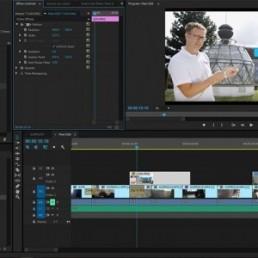 Education marketing video