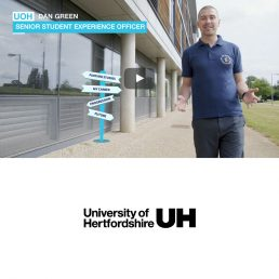 Education video for University of Hertfordshire