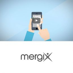 Landing Page Video Cloud Service Mergix
