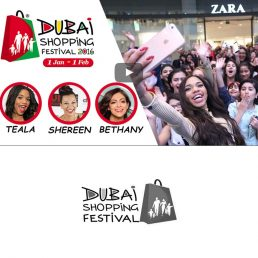 shoppin Festival Event Filming in Dubai