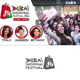 shoppin Festival Event Filming in Dubai