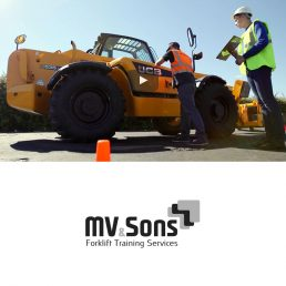 forklift training video MV sons