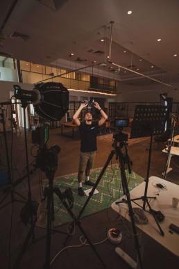 evamotion behind the scenes dubai video