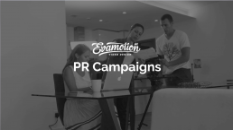 PR video campaigns